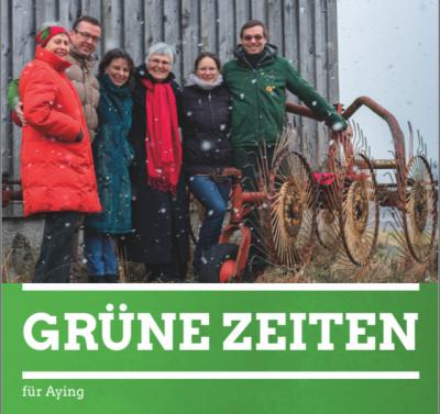 Titelseite der Grünen Zeiten