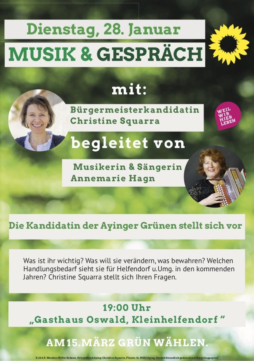 Musik & Gespräch in Helfendorf