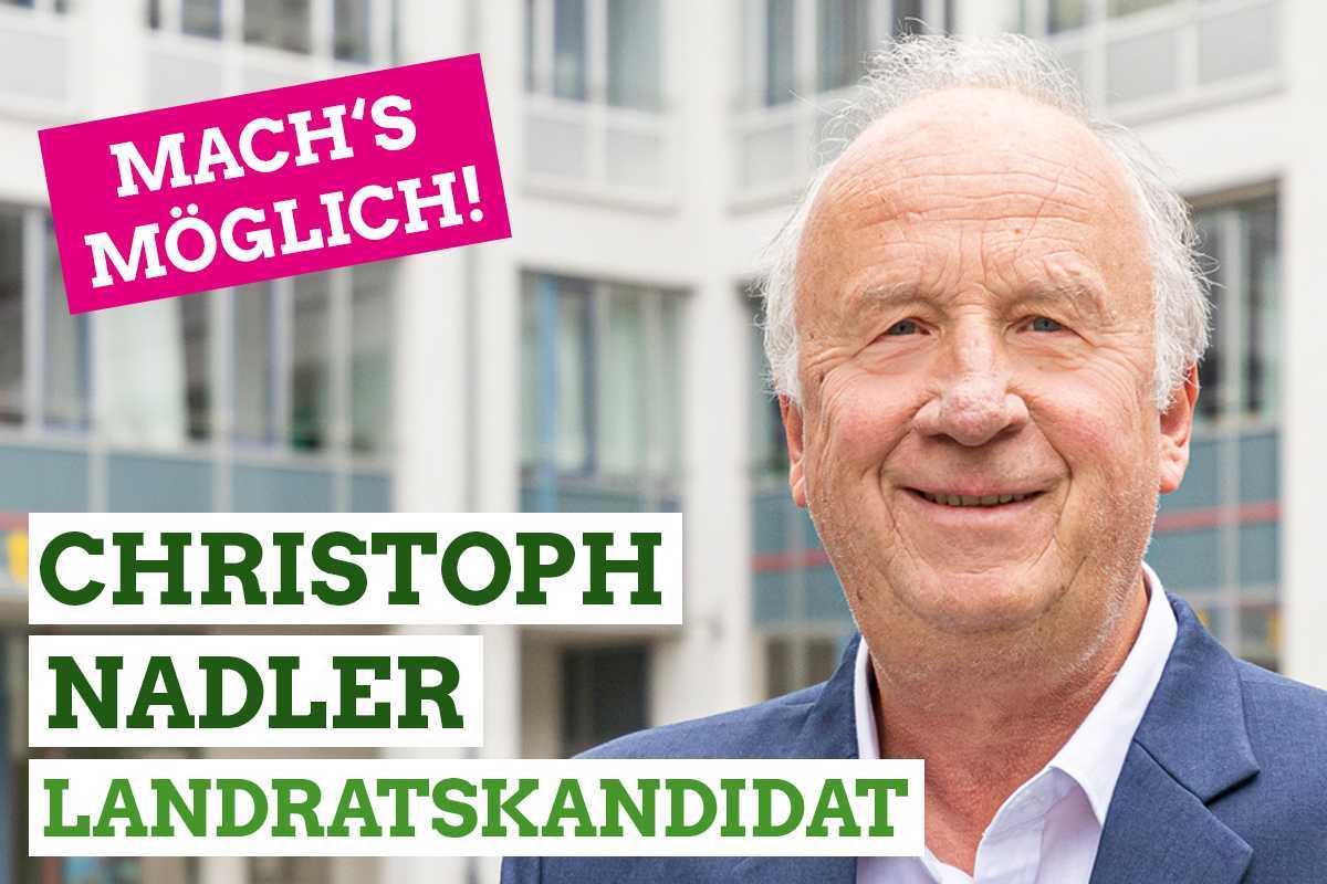 Am 29. März: Christoph Nadler wählen!