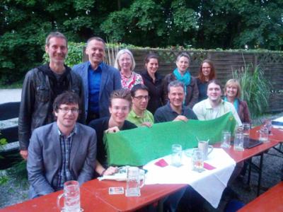 GRÜNE aus acht Gemeinden im Norden Münchens