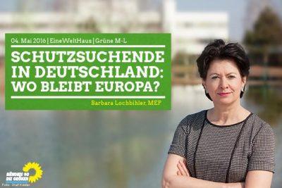 Barbara Lochbihler zu Gast bei den Grünen im Landkreis München