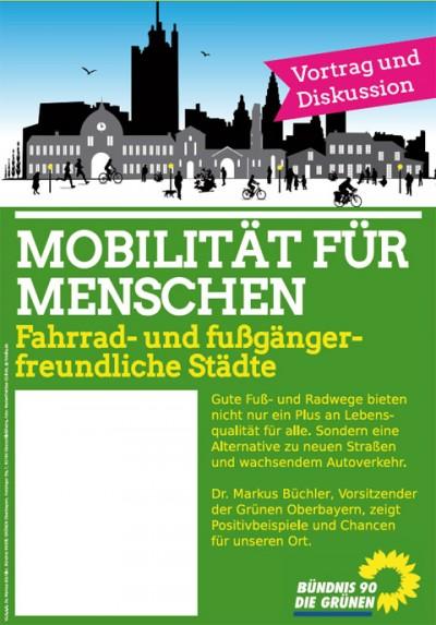 Plakat Mobilitätsvortrag Ansicht