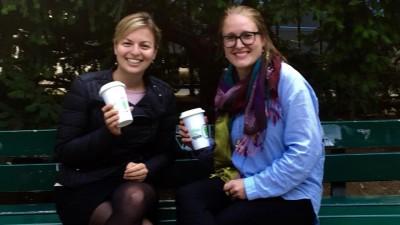 Katharina Schulze unterstützt Julia Post als Mentorin