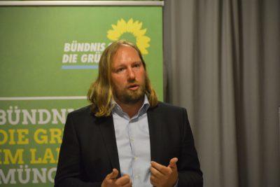 Toni Hofreiter bewirbt sich um das Votum des Kreisverbands zur Urwahl