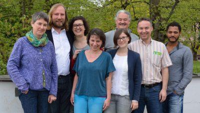 Grüne München-Land auf dem kleinen Parteitag in München