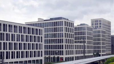 München entlang der Stammstrecke: architektonisch eher fad.