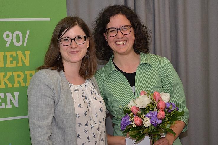 Sabine Pilsinger und Anna Schmidhuber