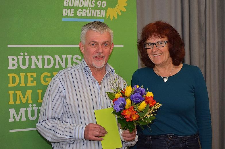 Peter Triebswetter und Helga Keller-Zenth