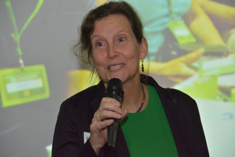 Bezirkstagskandidatin Frauke Schwaiblmair