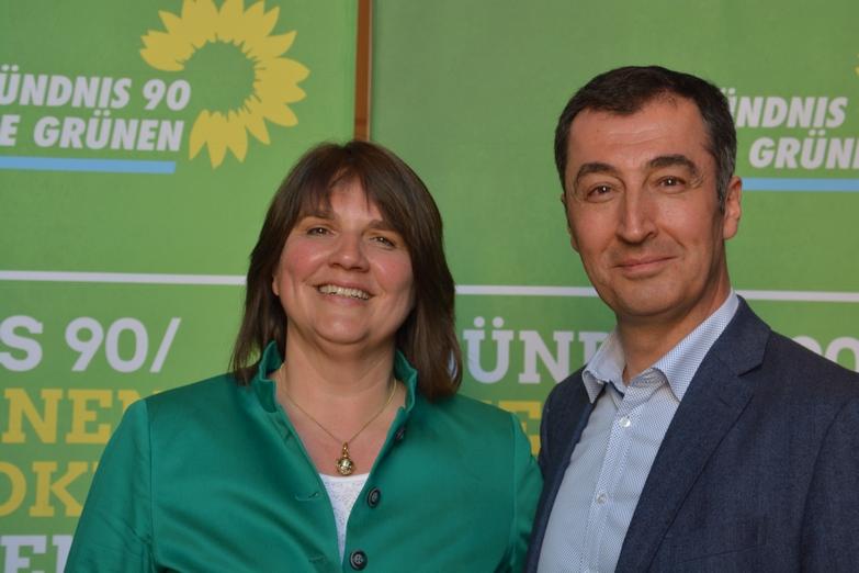 Claudia Köhler mit Cem Özdemir