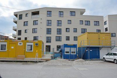 Wohnungsbau Baustelle
