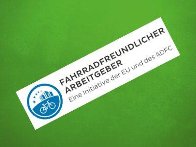 Logo Fahrradfreundlicher Arbeitgeber