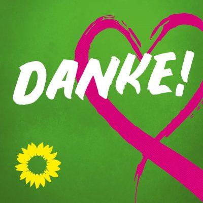 Danke Grüne Bayern