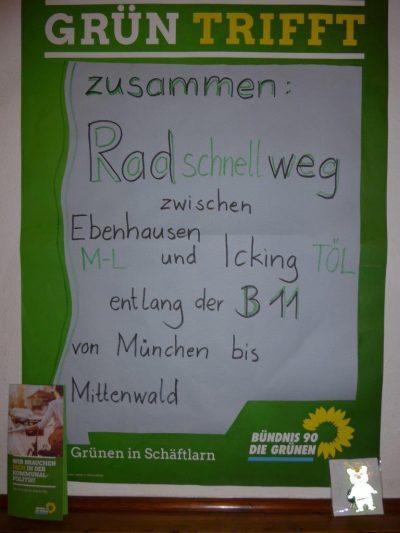Plakat Fernradweg
