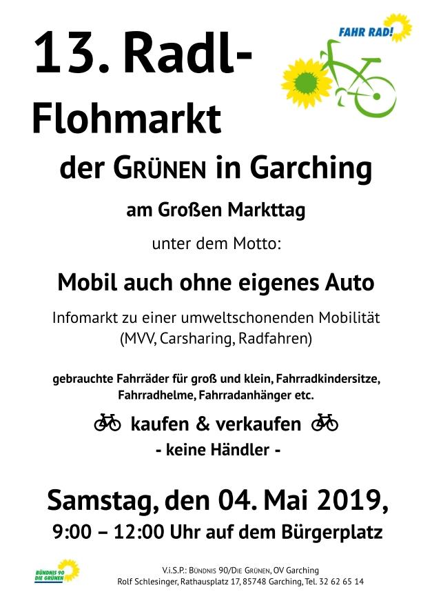 13. Radlflohmarkt Garching