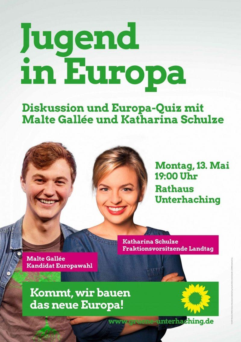 """Plakat """"Jugend in Europa"""""""