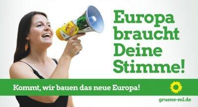 Europa braucht Deine Stimme