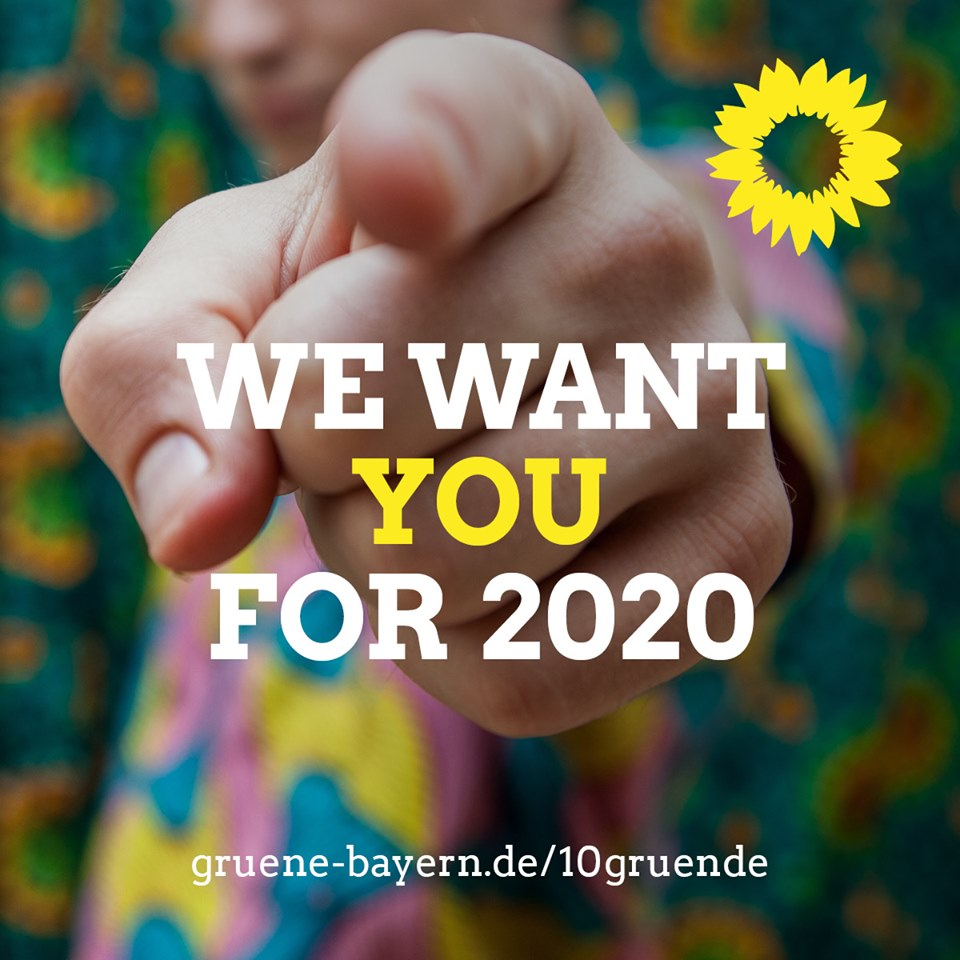We want you for 2020