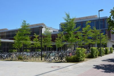 Ansicht Gymnasium Orttobrunn