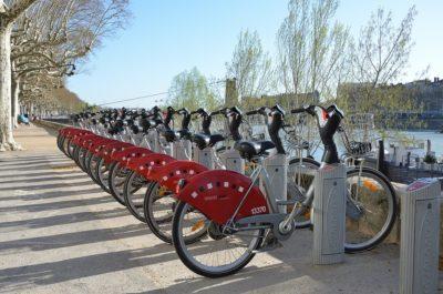 Leihfahrräder in Lyon