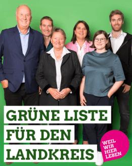 Grüne Liste für den Landkreis