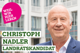 Landratskandidat Christoph Nadler