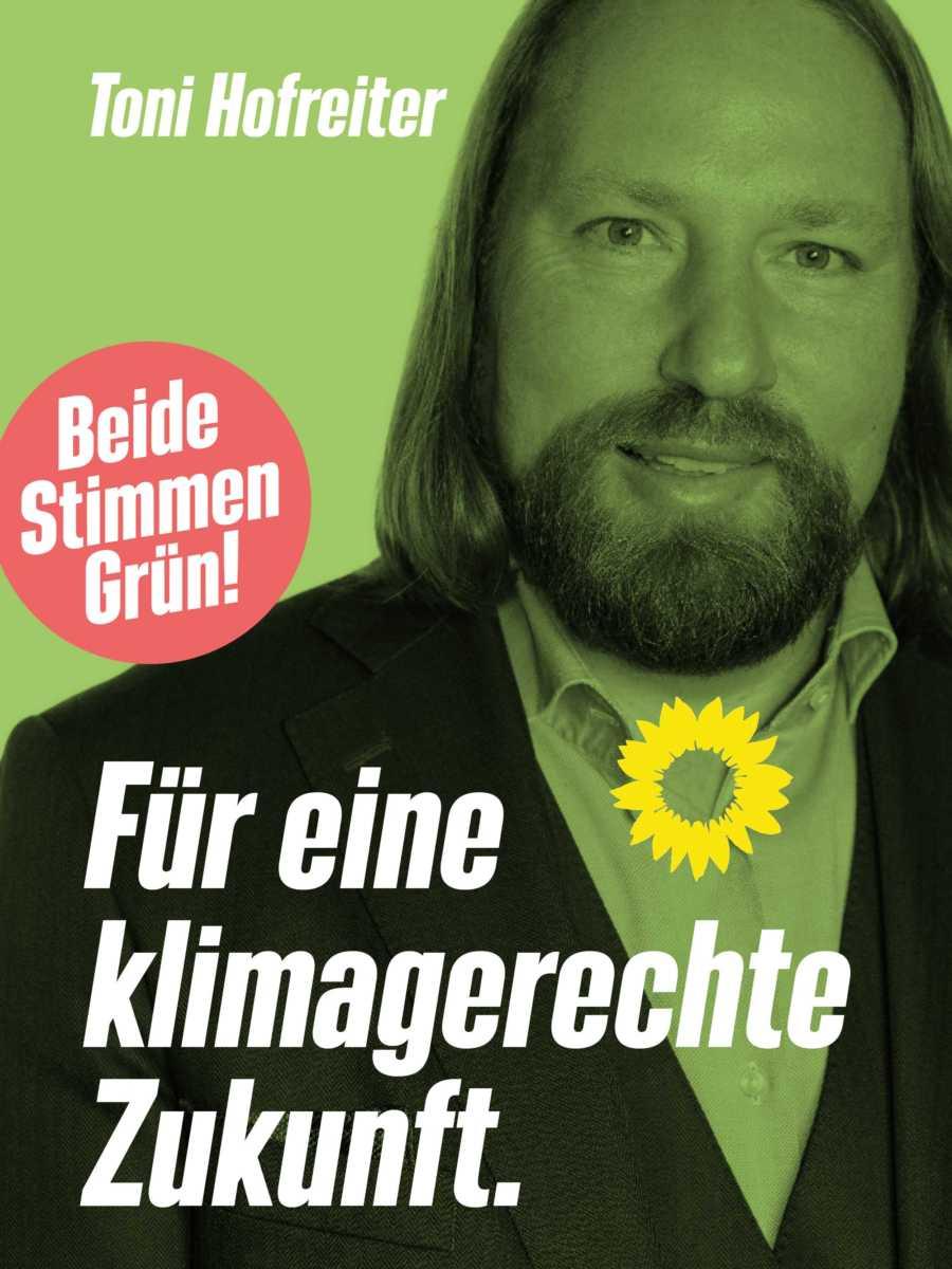 Toni Hofreiter wieder in den Bundestag!